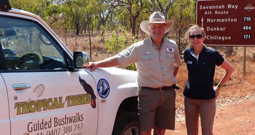 Elisa Detrez, TEQ World's Best Job In The World Park Ranger